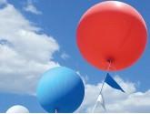 Ballons géants pour l'extérieure