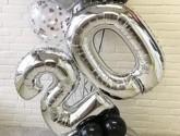 Ballons Chiffres 65cm en toutes couleurs